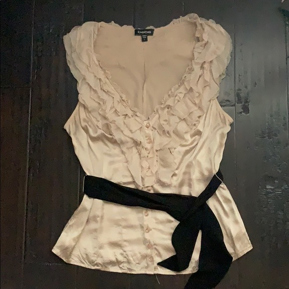 bebe Tops - Ruffled top